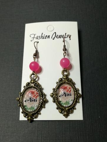 Roses mother earrings