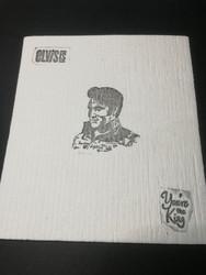 Elvis Presley dish rag