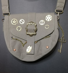 Steampunk Belt Satchel