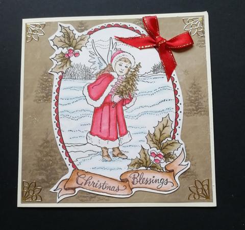 Christmas Card - Christmas Blessings