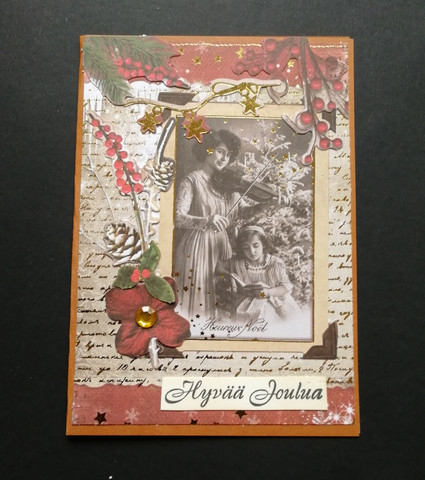 Christmas Card Violinist