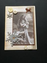 Joulukortti Maria
