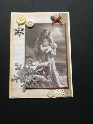 Christmas Card Maria