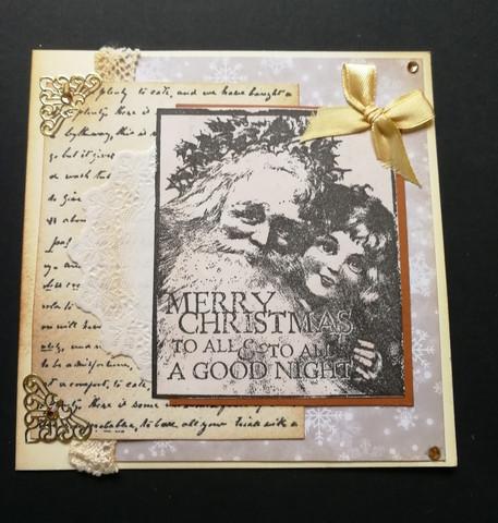 Christmas Card Letter to Santa