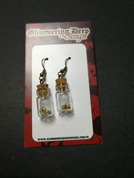 Clockwork Bottle Earrings
