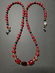 Red Chain for Glasses