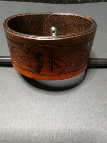 Viking Bracelet with Runes