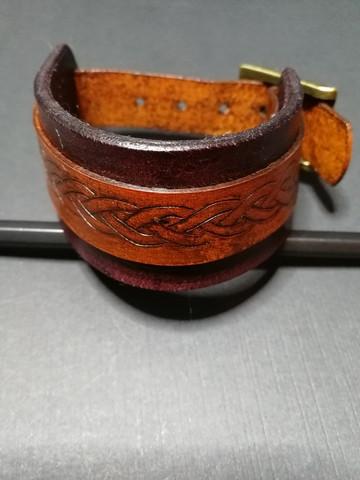 Buckled Viking Bracelet