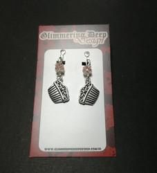 Comb Clip Earrings