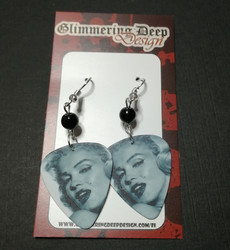 Marilyn Guitar Pick Earrings 2