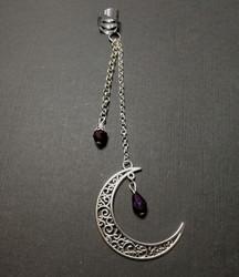 Helix Earring Crescent Moon