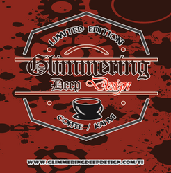 Glimmering Deep Design Irish Coffee