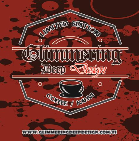 Glimmering Deep Design Irish Coffee