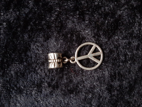 Lock jewelry peace