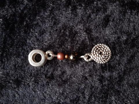 Lock jewelry rope