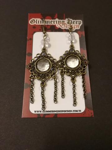 Bronze vintage earrings