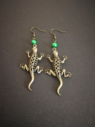 Lizzard earrings