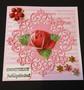 Rose card Juhlapäivänä