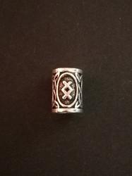 Beardbead viking rune Ingwaz