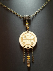 Viking Necklace Vegvisir