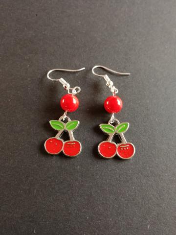 Cherry aerrings