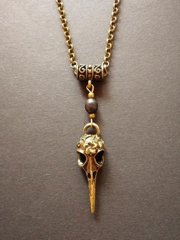 Bird skull series necklace