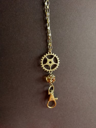 Steampunk key chain