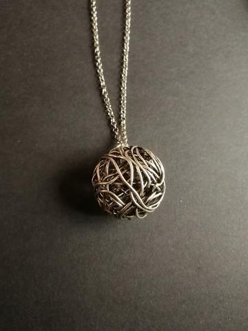 Tumbleweed necklace