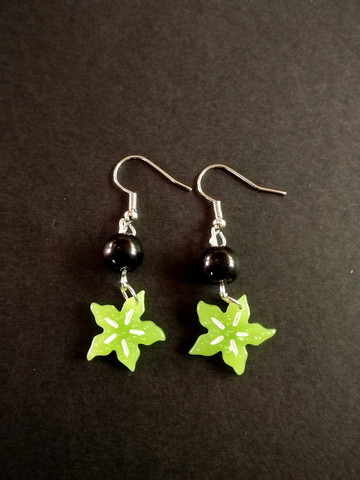 Carambola earrings