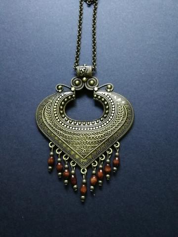 Big medieval necklace