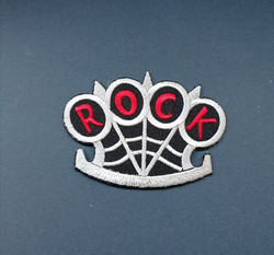 Knuckle duster Rock patch