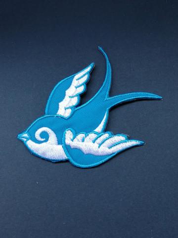 Kangasmerkki sininen lintu
