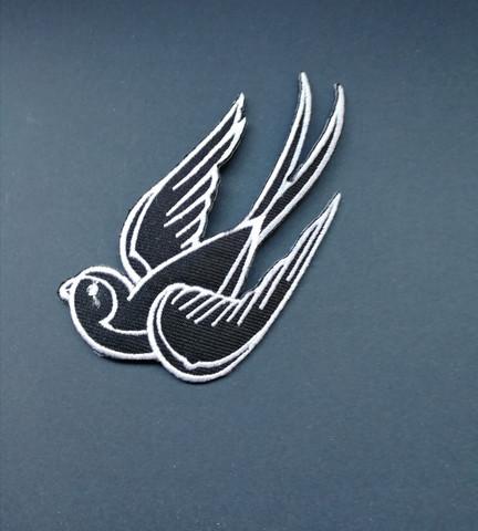 Kangasmerkki musta lintu 1