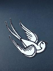 White bird patch 2