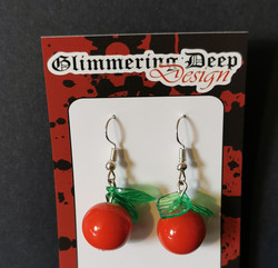 Apple earrings