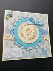 Baby card little prince