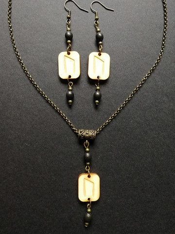 GD Uruz jewelry set
