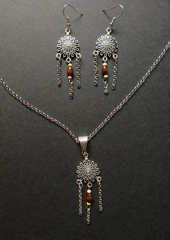 Sun jewelry set