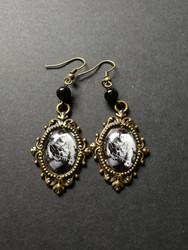 Elvis and quitar earrings