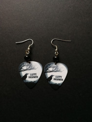 Halloween pick earrings