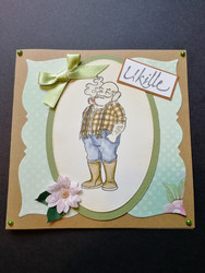Handmade card grandfather 2