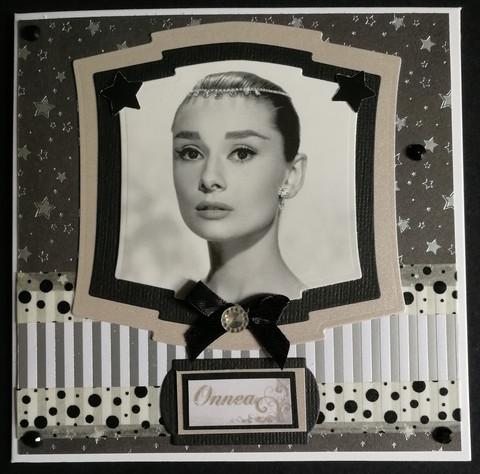 Audrey Hepburn card