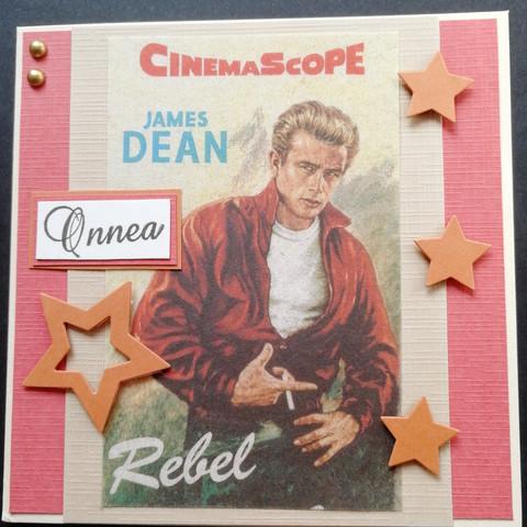 James Dean card