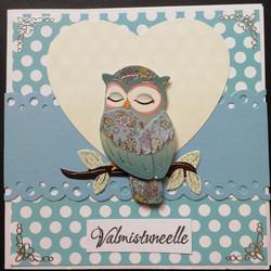 Graduate card owl