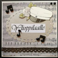 Graduate card music