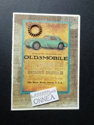 Car card Oldsmobile