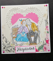 Anniversary card for the elders