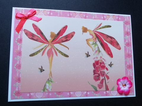 Fairies card
