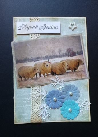 Sheep Christmas card
