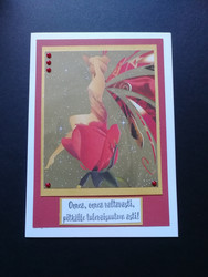 Red fairy card